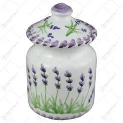 Zaharnita din ceramica pictata manual 10 CM - Lavanda