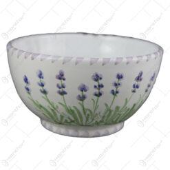 Bol din ceramica pictata manual 15 CM - Lavanda