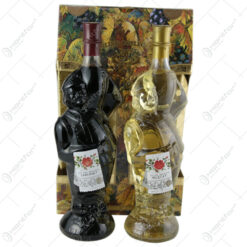 Cutie cu doua sticle de vin