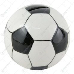 Pusculita ceramica Minge de fotbal 10 CM