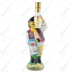 Sticla de vin in sticla pictata 1 L