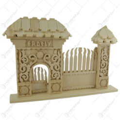 "Poarta secuiasca ""Erdely"" din lemn 30x20 CM"