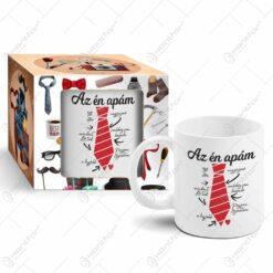 "Cana ceramica 300 ml ""Az en apam"""