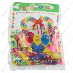 Set baloane colorate 100 bucati