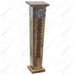 Cutie turn pentru bete parfumate din lemn ars  31 CM
