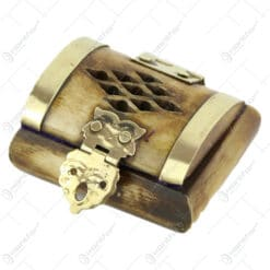 Caseta bijuterii din os 5x4 CM