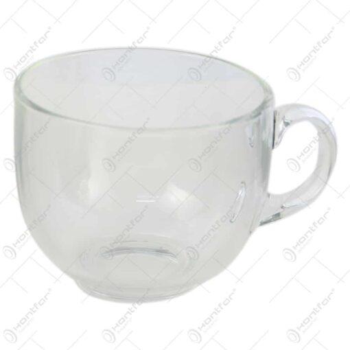 Cana cappuccino din sticla 475 ml
