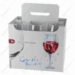 Set 6 pahare vin 410 ml