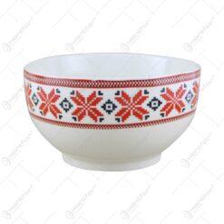 Bol din ceramica cu motive traditionale 13 CM