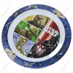 Farfurie intinsa din plastic Star Wars 22 CM