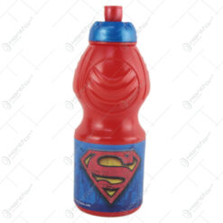 Plosca din plastic Superman 400 ml