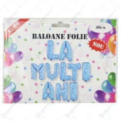 Set baloane folie La multi ani