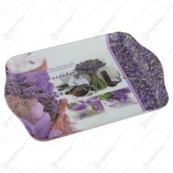 Tava servire din plastic 21x14 CM - Lavender