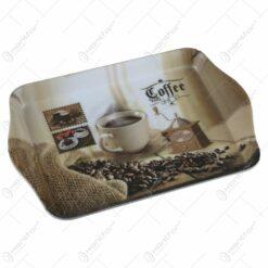 Tava servire din plastic 21x14 CM - Coffee Shop