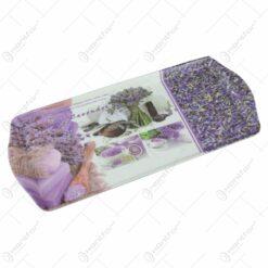Tava servire din plastic 38x16 CM - Lavender