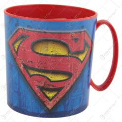 Cana din plastic Superman 350 ml