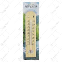 Termometru din lemn 6x25 CM