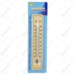 Termometru din lemn 4x21 CM