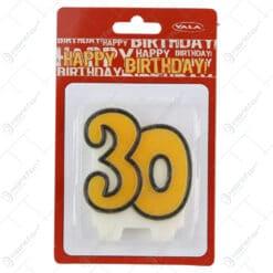 Lumanare cifra pentru tort - 20- 60