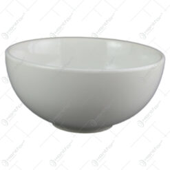 Bol salata din ceramica Alb