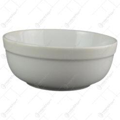 Castron din ceramica Alb