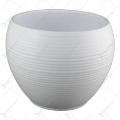 Ghiveci din ceramica Manacor Alb 19x16 CM