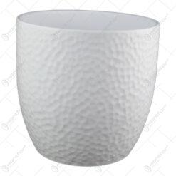 Ghiveci din ceramica Boston Alb