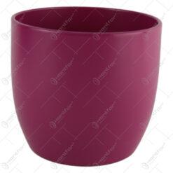 Ghiveci din ceramica Basel Splash Pink 14x13 CM