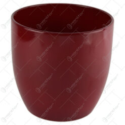 Ghiveci din ceramica Basel Bordo 19x18 CM