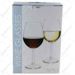 Set 12 pahare vin 6x430 ml