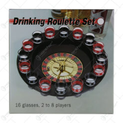 Ruleta electronica cu 16 pahare shot