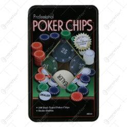 Set 100 jetoane poker
