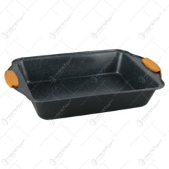 Tava pentru cuptor cu maner silicon 36x23 CM