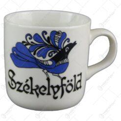 Cana ceramica 7 CM Szekelyfold cu motive populare