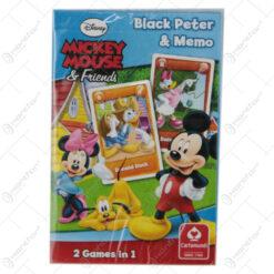 Carti de joc Mickey Mouse 2 in 1