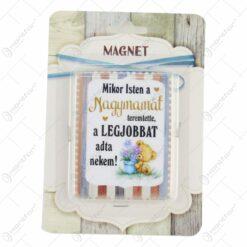 "Magnet frigider din ceramica 6x8 CM ""A legjobb..."" - Modele variate"