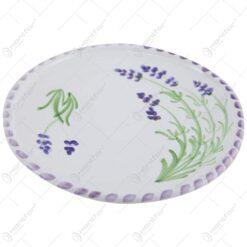Farfurie din ceramica pictata manual 15 CM - Lavanda