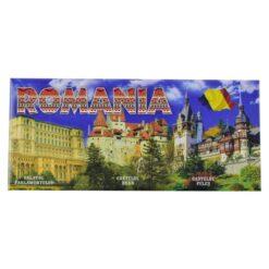 Magnet pentru frigider realizat din metal - Design Romania - 2 modele