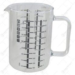 Cana gradata pentru masurare din sticla termorezistenta 1000 ml