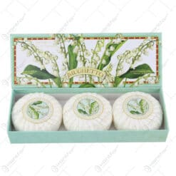 Set sapun Lacramioara Mughetto 3×100 gr
