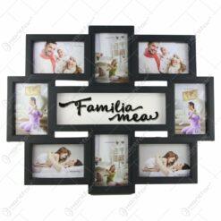 Rama foto colaj din plastic Familia mea 57x46 CM