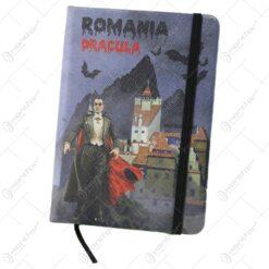 Agenda nedatata souvenir Romania Dracula 10x14 CM