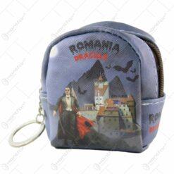 Gentuta cu breloc Romania Dracula 7x9 CM
