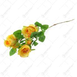 Floare artificiala Trandafir Extra 68 CM