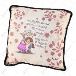 """Perna decorativa 26x26 CM """"A nagymama egy kicsit szulo..."""""""