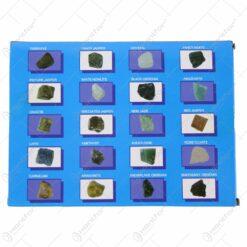 Set 20 de pandative din pietre semipretioase 2 CM