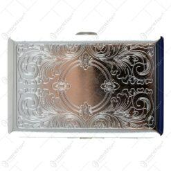 Tabachera metalica eleganta pentru 16 tigari 1x10 CM