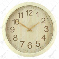 Ceas de perete rotund din plastic 25 CM