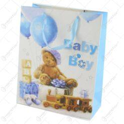 Punga cadou din hartie 26x32 CM - Baby Boy
