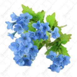 Buchet artificial cu flori Stea albastra 25 CM